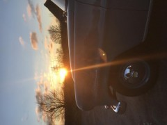 Olympia Rekord bei Sonnenuntergang
